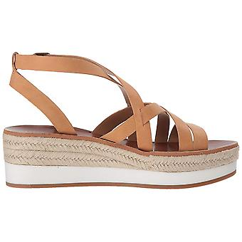 Lucky merk Womens LK-JENEPPER-270 lederen open teen casual strappy sandalen