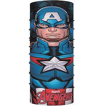 Buff Unisex Captain America original de protecție în aer liber Tubular Bandana - Multi