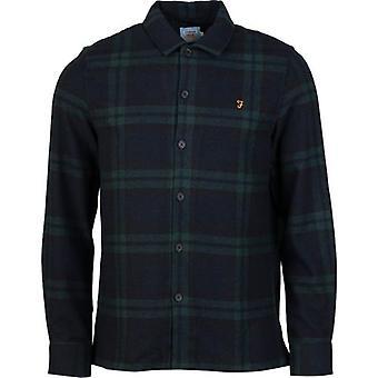 Farah Drummond Kontrolleret Flannel Over Shirt