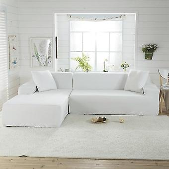 Solid Color Corner Sofa Covers For Living Room Elastic Spandex Slipcovers Couch Cover