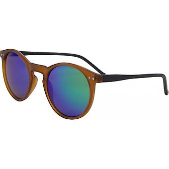 Sunglasses Unisex around Kat. 3 brown/green (16-104A)