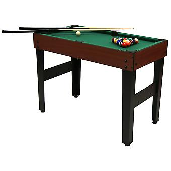 Charles Bentley4-In-1 Multi Sports Table inklusive Pool, Fußball, Push Hockey & Tischtennis
