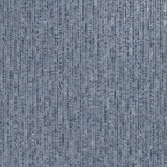 Roka Striped Wallpaper Navy Holden 91122