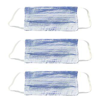 Voksen genanvendelige ansigtsmasker - Unisex Vaskbar Bomuld Mussellin Beskyttelse