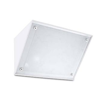 Leds-C4 Curie - Outdoor LED Wall Downlight White 13cm 1604lm 4000K IP65