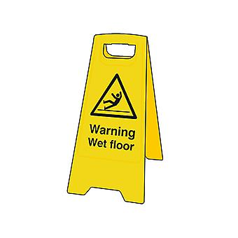 Scan Warning Wet Floor Heavy-Duty A Board SCA4702