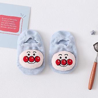 Baby Girls Jungen Gummi Anti Slip Boden Cartoon Baumwolle Socken