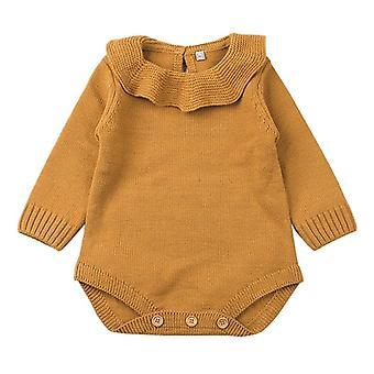حديثي الولادة سترة الطفل- Bodysuits الفتيات الرضع / الأولاد متماسكة الشتاء الشتاء Jumpsuits ملابس مجموعة- الأميرة ليتل الاطفال ملابس الأزياء