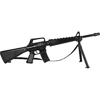 CAP GUN  - 118/6 - Gonher Assault Rifle 8 Shots Black