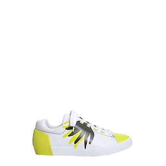 Ash Nicky002 Women's White Leather Sneakers