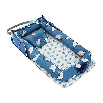Portable Newborn Travel Babynest, Isolation Sleep Cotton Cradle