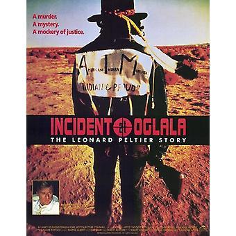 Tapaus on Oglala elokuvajuliste (11 x 17)