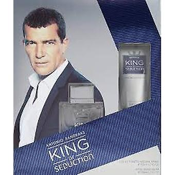 Antonio Banderas kung av förförelse gåva set 50ml EDT + 50ml Aftershave Balsam