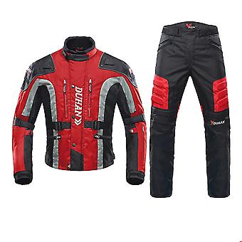 Cold proof motorcycle protective gear set