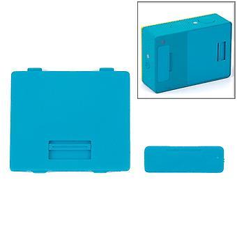 Interface Cover + Battery Back Cover pour Xiaoyi (Bleu)