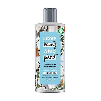 Coconut water and mimosa flower shower gel 500 ml of gel
