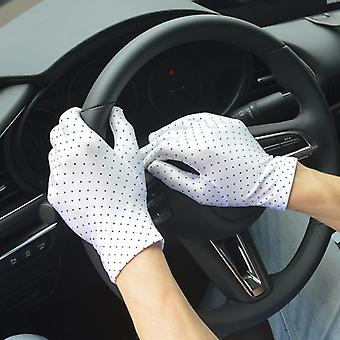 Mănuși sexy de vară cu mănușă de conducere scurtă anti-uv anti-uv