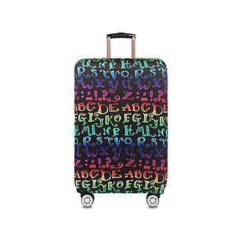 Alphabet d'impression protecteur de bagages de voyage