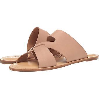Heldig merke kvinner's Leelan Flat Slide Sandal