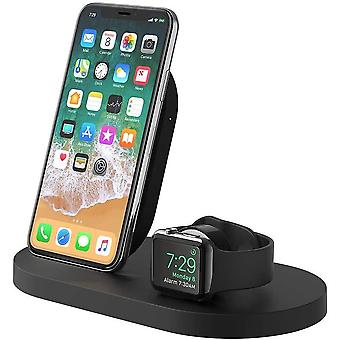 Belkin Boost Up Wireless Charging Dock for iPhone + Apple Watch + USB-A Port
