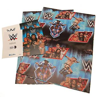 WWE Gift Wrap (Pack of 2)