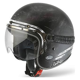 Airoh hjelm Garage Jet - Rå Matt