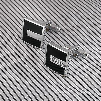 Haute qualité Français Style Hommes d'affaires Cufflinks Square Shaped Cuff Links Brass