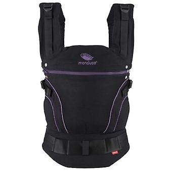 Manduca Black Diapers Baby Carrier Limited Edition