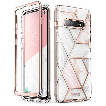 i-Blason Cosmo Designed for Galaxy S10 Case Stylish Glitter Protective Bumper Case Without Built-in Screen Protector for Galaxy S10 2019 Release (Marble)