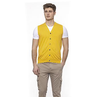 Alpha Studio Men's Yellow Jacket
