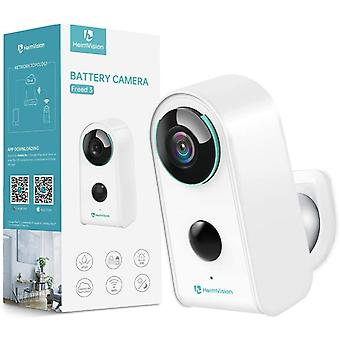 HMD3 1080P Rechargeable Battery Powered Security Camera, Wireless WiFi
