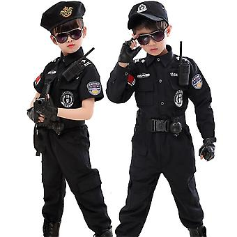 Halloween Policeman Costumes Kids Party