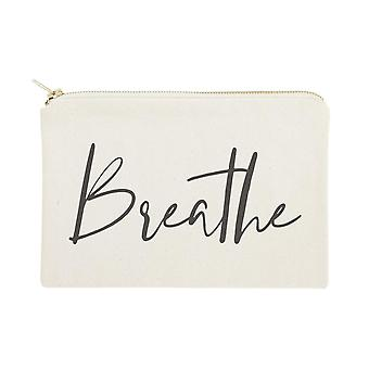 Breathe-cotton Canvas Cosmetic Bag