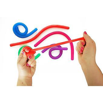 5 kpl aistinvaraisia leluja, paineenalennusleluja, tuuletusleluja, satunnainen väri