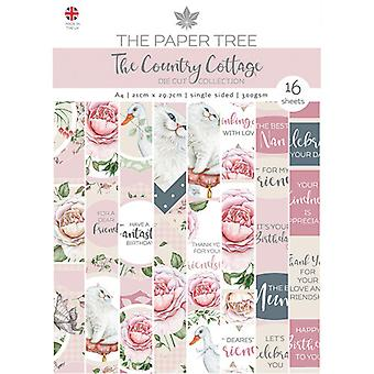 The Paper Tree - The Country Cottage Collection - A4 Die Cut sheets