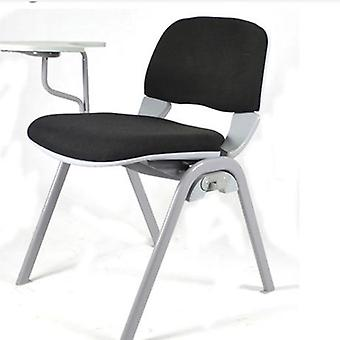 Foldable  Plastic Fabric, Office Chair With Writing Board
