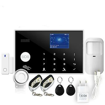 Wireless & Wired Detector Burglar Alarm