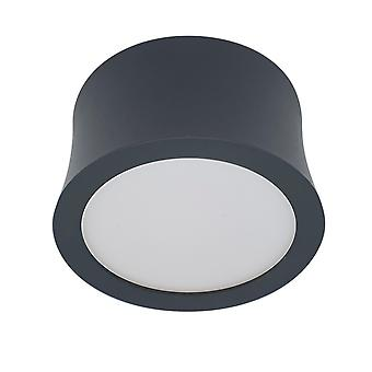 Inspiriert Mantra - Gower - Scheinwerfer, 7W LED, 4000K, 560lm, Sand schwarz