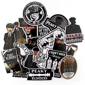 Peaky Blinders, Retro Fun Klistermärke För Gitarr Jdm, Graffiti Applique Dekoration