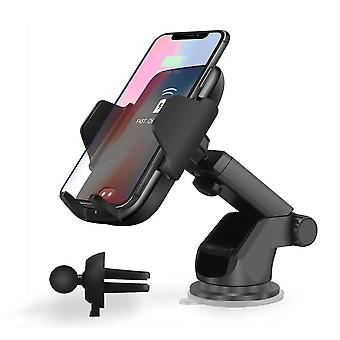 Qi automatic wireless car charger 10w