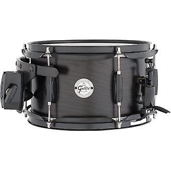 Gretsch drums silver series s1-0610-asht 10-inch snare drum, satin