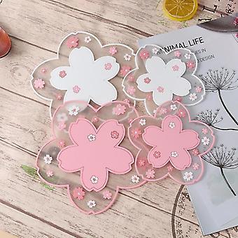 1pc Japonia Stil Cherry Blossom căldură izolare tabel mat