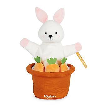 Kaloo kachoo överraskning marionett robin kanin