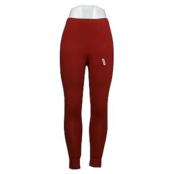 Vrouwen met controle Petite Leggings Fit Pull On Knit Red A235952