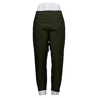 Vrouwen met controle 1x petite omkeerbare geen zijnaad leggings groen A384087