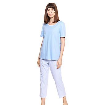 Rösch Smart Casual 1213057-10782 Női&s Vichy pamut pizsama szett