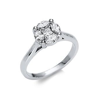 Luna Creation Promessa Ring Illusion 1U138W853-1 - Ringbredd: 53
