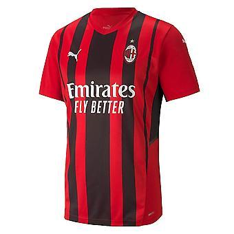 2021-2022 AC Milan Home Shirt (Kids)