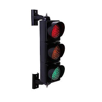 Yüksek Kaliteli 100mm Üç Renkli Kırmızı Sarı Yeşil Led Trafik Işıkları