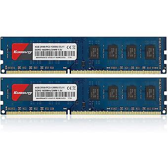 FengChun 8 GB Kit (2X4GB) DDR3 1600 MHz Udimm-RAM PC3-12800 PC3-12800U 1,5 V CL11 240 Pin 2RX8